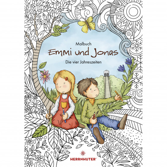 Colouring book - Emmi & Jonas