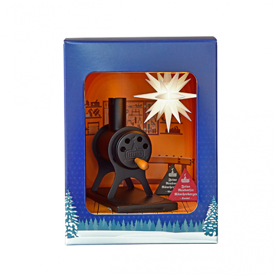 Gift box - Star and incense burner - Miniaturstern