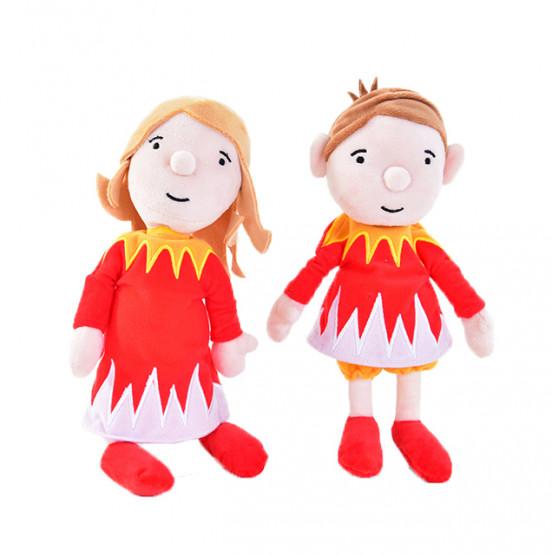 Plush toys EMMI & JONAS