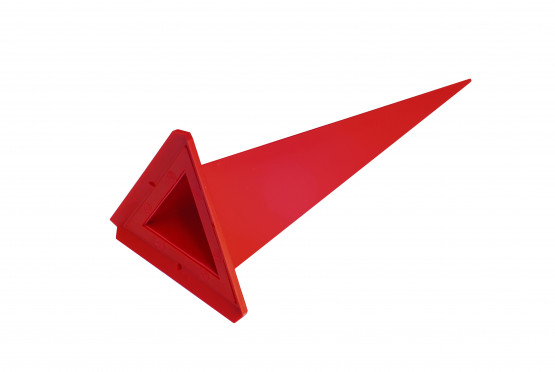 Replacement point A13 - triangle, color selection