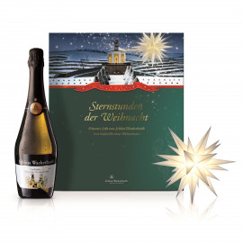Gift box - Star and sparkling wine