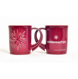 Christmas mug with logo