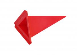 Einzelzacke A4 - Dreieck, Farbauswahl